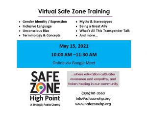 safe zone training date